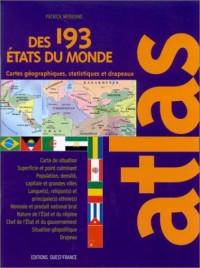 Atlas des 193 Etats du monde : Statistiques et drapeaux