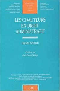 Les coauteurs en droit administratif