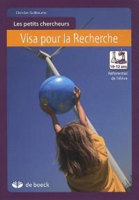 Visa pour la Recherche : Référentiel de l'élève 10-12 ans