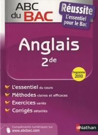 Anglais 2e : Programme 2010
