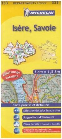 Isère, Savoie : 1/150 000