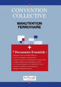 3170. Manutention ferroviaire Convention collective