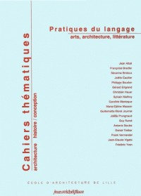 Cahiers Thematiques N3, Arts Architecture Litterature