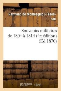 Souvenirs Militaires  4e ed  ed 1870