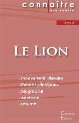 Fiche de lecture Le Lion (Analyse littéraire de référence et résumé complet)