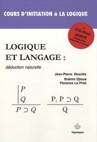 Logique et langage : déduction naturelle