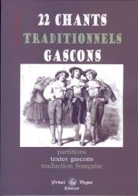22 chants traditionnels gascons