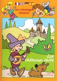 Les Coloriages Gisserot : les Chateaux Forts