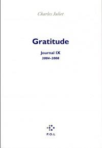 Journal, IX:Gratitude: (2004-2008)
