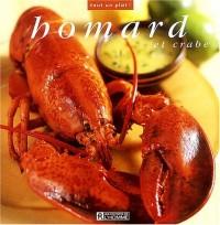 Homard et crabe