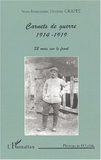 Carnets de guerre 1914-1919. 52 mois sur le front