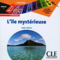 CD AUDIO DECOUVERTE : L'ILE MYSTERIEUSE NIVEAU 1 Livre scolaire