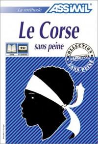 Le Corse sans peine (1 livre + coffret de 3 cassettes)