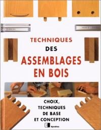 Techniques des assemblage bois