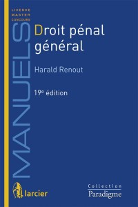Droit Penal General, 19eme ed