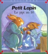 Petit Lapin. Le pipi au lit