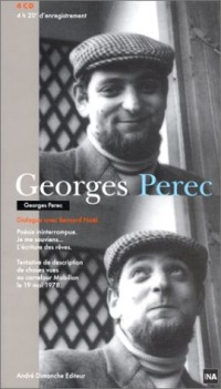 Georges Perec, dialogue avec Bernard Noël (2 livres + coffret de 4 CD)