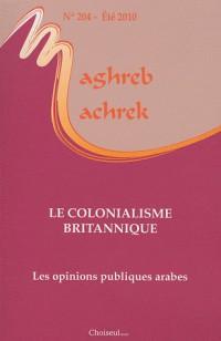 La Politique Coloniale Britannique au Proche-Orient (N.204 - Ete 2010)