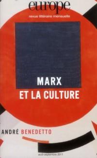 Marx et la Culture N 988 989