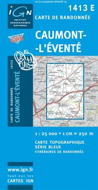Caumont-l'Evente GPS: Ign1413e