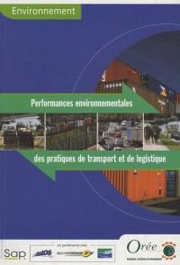 Performances environnementales des pratiques de transport et de logistique