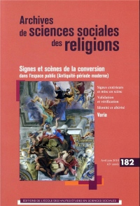 Archives de Sciences Sociales des Religions 182