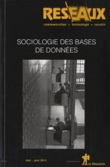 Réseaux, N° 178-179, mai-juin : Sociologie des bases de données