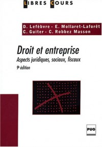 Droit et entreprise : Aspects juridiques, sociaux, fiscaux
