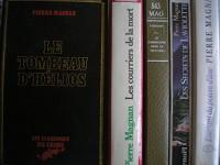 lot 5 livres pierre magnan : l'amant du poivre d'ane - les courriers de la mort - le commissaire dans la truffiere - le secret de laviolette - le tombeau d'hélios