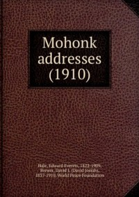 Mohonk addresses (1910)