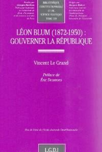 Léon Blum (1872-1950) : Gouverner la République