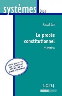 Le procès constitutionnel