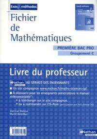 Fichier de mathématiques 1e Bac Pro Groupement C : Livre du professeur