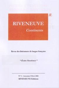 Riveneuve Continents, N° 5