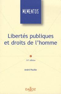 Libertés publiques et droits de l'homme