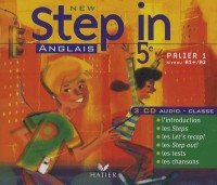 New Step in - Anglais 5e, Edition 2007, 3 CD Audio-Classe