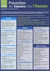 Prévention des Cancers chez l'Homme : L'essentiel en toute clarté