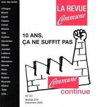 La Revue Commune, numéro 39 : Médias, la rébellion
