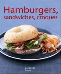 Hamburgers, sandwichs et croques