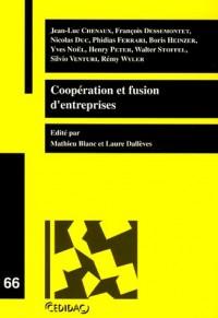 Coopération et fusion d'entreprises