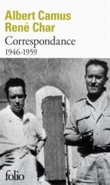 Correspondance: (1946-1959) [Poche]
