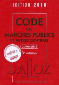 Code des marchés publics et autres contrats 2010