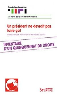 Hollande, Inventaire d'un Quinquennat de Droite