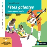 Fêtes galantes et Romances sans paroles [Poche]
