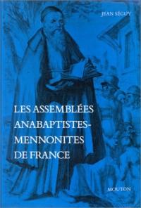 Les assemblées anabaptistes-mnémonites de France
