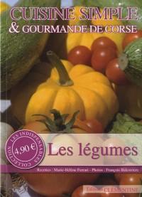 Cuisine simple & gourmande de Corse : Les légumes