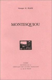 Montesquiou (livre non massicoté)