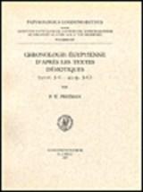 Chronologie Egyptienne D'Apres Les Textes Demotiques