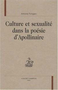 Culture et sexualité dans la poésie d'Apollinaire