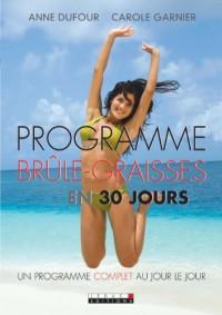Programme brûle-graisses en 30 jours
